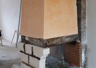 Aménagement intérieur et rénovation cheminée